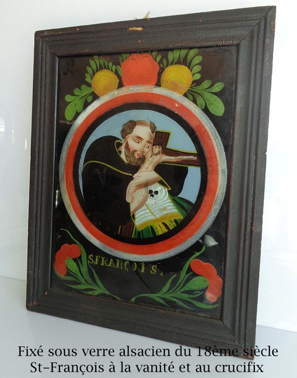 Tableaux huiles gouaches aquarelles dessins anciens - Fixe sous verre ancien ...