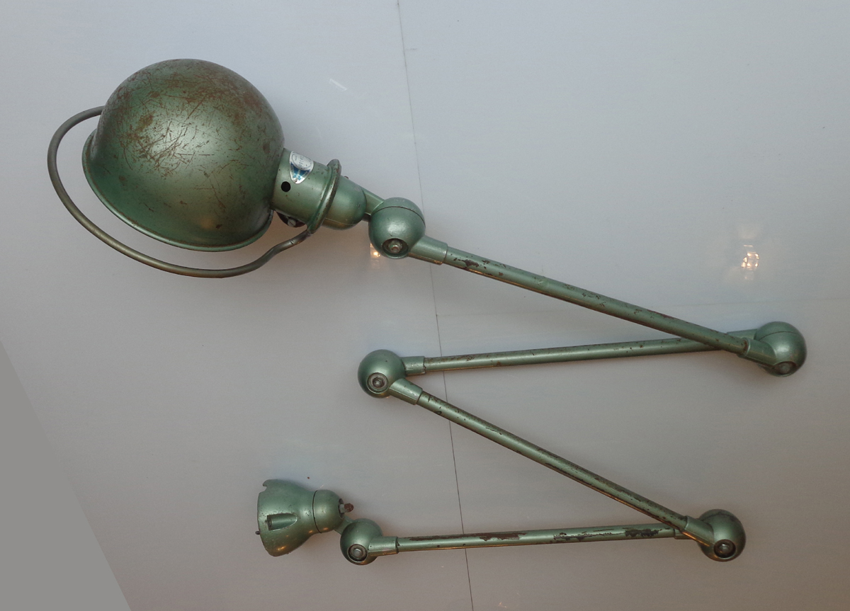 Authentic 4 Arms Jielde Lamp Created By Jean Louis Domecq In 1953